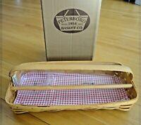 "Peterboro Basket Co. ""One Trip to the Grill"" Handmade Basket - NIB"