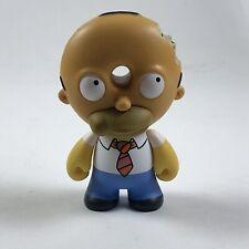 """Simpsons Treehouse of Horror - HOMER DOUGHNUT HEAD - Kidrobot - New 3"""" (2/20)"""