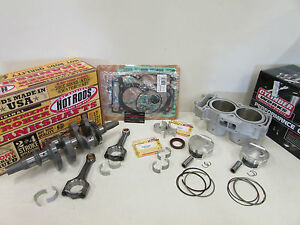 POLARIS RZR 1000 XP ENGINE REBUILD KIT CRANKSHAFT, GASKETS, CYLINDER, PISTONS