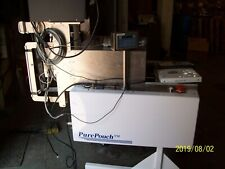 PURE POUCH AUTOMATED MEDICAL PACKAGING MACHINE BELL-MARK 32I THERMAL PRINTER