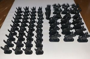 RISK Lord Of The Rings Middle Earth Conquest Black Army Replacement Game Pieces
