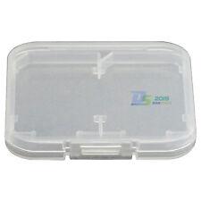 Hot Sale Memory Card 2 SD Holder*1 Transparent Plastic Box Storage Case