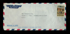 BUS-1166** SURINAME c1966  AIR MAIL COMMERCIAL COVER TO TOLEDO, OHIO
