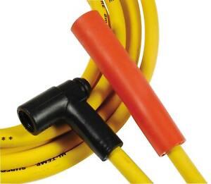 Spark Plug Wire Set - Super Stock Graphite Core 8mm - Yellow - 4058