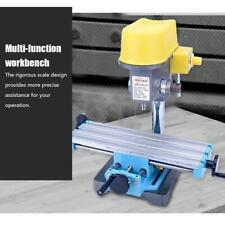 Mini Precision Milling Machine Worktable Multifunction Drill Rack Table Slide
