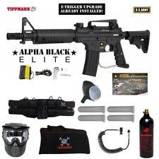 Tippmann US Army Alpha Elite Tactical E-Grip Specialist Paintball Gun Package