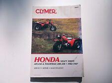 HONDA  M455 MANUAL