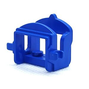 LEGO Horse Saddle with Two Clips 4491b Blue Accessory Castle Western