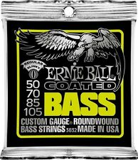 Ernie Ball 3832 50-105 Regular Slinky Coated Bass Guitar Strings Free US Ship!