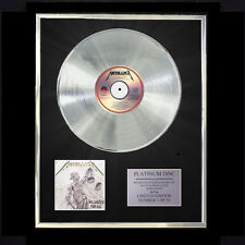 METALLICA ...AND JUSTICE FOR ALL  CD PLATINUM DISC FREE P+P!!