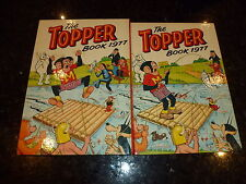 THE TOPPER BOOK Comic Annual - Year 1977 - UK Annual - Price Ticket Intact
