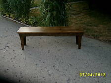 5' clear span bench
