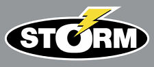 """2"""" Storm High Quality Decal Sticker Tackle Box Fishing Boat Trailer Truck Baits"""