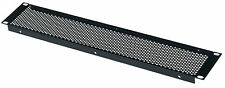 2U Rack Panel 19 inch Perforated Folded Vent  Panel