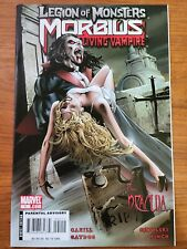 Morbius: Legion of Monsters (2007) Nice Copy David Finch Art New Movie 2022
