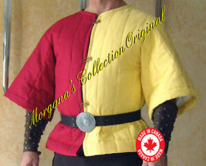 Medieval Viking Armor Short Padded Gambeson (2 colors)