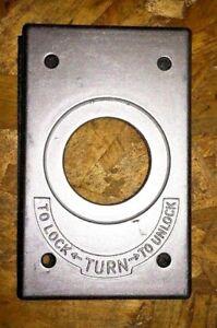 (C) Arrow Hart Die Cast Aluminum With Gasket 23008 (Box Of 10)