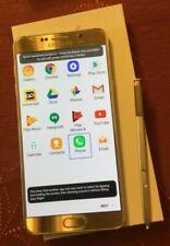 Samsung Galaxy Note5 SM-N920PZ - 32 GB - Gold Platinum (Sprint) Smartphone