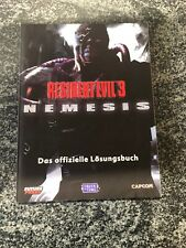 Resident Evil 3 Nemesis / Incl. City Map! / Strategy Guide / Perf. Used Cond.
