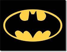 Batman - Logo Metal Tin Sign Wall Art