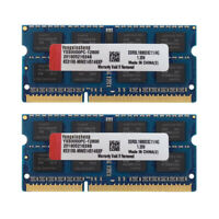 4GB 8GB 2RX8 PC3L-12800S DDR3L-1600MHz SODIMM Laptop Memory RAM 204Pin 1.35V lot