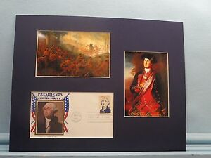 General Braddock defeated at Fort Duquesne & George Washington First day Cover