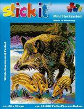Mini Stecksystem Wildschweine ca. 10.000 Teile Nr. 41241 mit XXL-Steckvorlage