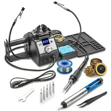 X Tronic 3060 Xts 75 Watt Double Digital Soldering Iron Station Complete Kit