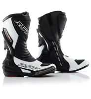 Rst Tractech CE Evo 3 Motorcycle Motorbike Sports Race Boots Black&White 41/7