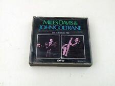MILES DAVIS & JOHN COLTRANE - LIVE IN STOCKHOLM 1960 JAPAN BOX 2 CD DIW RECORDS