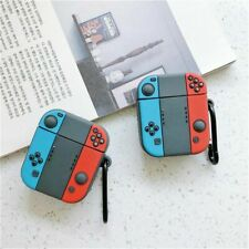 Silicone Wireless Earphone Cover Case Bag for Nintendo Switch Apple Airpods 1 2