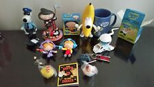 Family Guy Lot of Figures Banana Cop Brian Stewie Statue Bertram Mug Collection