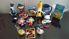 Family Guy Lot of Figures Banana Cop Brian Stewie Statue Bertram Mug Collection