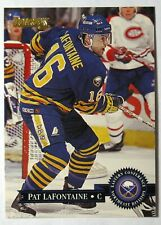 1995-96 Donruss Buffalo Sabres Hockey Card #172 Pat LaFontaine