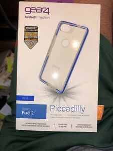 Gear4 Piccadilly Case for Google Pixel 2 - Clear / Blue