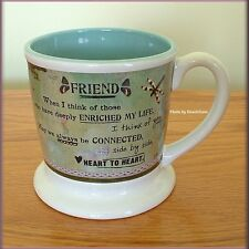 FRIEND MUG DISHWASHER & MICROWAVE SAFE BY KELLY RAE ROBERTS FREE U. S. SHIPPING