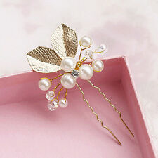 4PC Wedding Bridal Flower Rhinestone Crystal Hair Pins Clips Bridesmaid hot sell