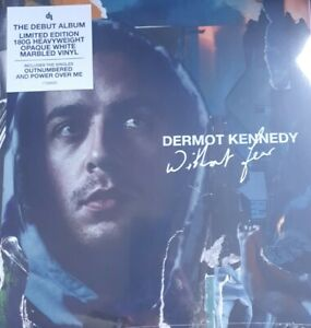 DERMOT KENNEDY -Without Fear - Opaque White Marbled Coloured Vinyl LP new/sealed