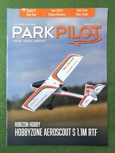 Park Pilot Winter 2020 hobby magazine planes RC airplanes aviation Flying Models
