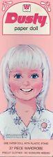Vintage 1960S Dusty Paper Doll Mod Uncut Laser Reproduction No.1 Seller Frees&H
