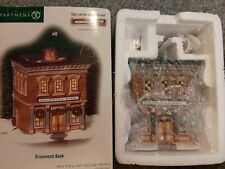 Dept 56 New England Village Drummond Bank #56667 Nib