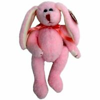 1 Ty Attic Treasures - Strawbunny the Pink Bunny Rabbit - New - Free Shipping