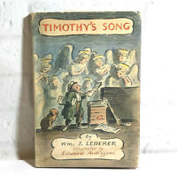 Timothy's Song by William J Lederer Edward Ardizzone 1965