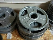 """Various 2.5lb 5lb or 10lb lb Olympic 2"""" Weight Plates Pairs and Singles"""