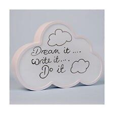 Personalise Your Own Light Up Message Cloud Board Wall Mount Free Standing Gift