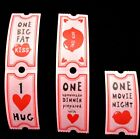 25x Love Coupons, Joke, Fun Valentines Gift For Him Gift For Her ❤️ Birthday