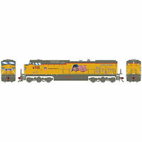 Athearn HO AC4400CW UP Flag Repaint #6755