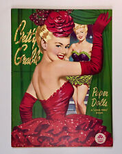 """BETTY GRABLE"" 1953 MERRILL UNCUT PAPER DOLLS VINTAGE"