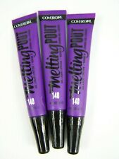 Covergirl Melting Pout Gel Liquid Lipstick #140 Gellie Jelly Lot of 3 New