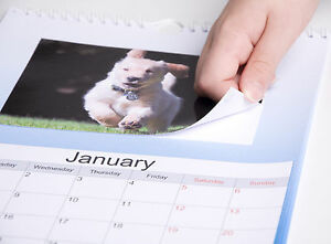 """MAKE YOUR OWN 2022 PERSONALISED A4 CALENDAR WITH YOUR 6X4"""" PHOTO PRINTS"""